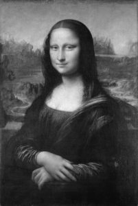 Mona_Lisa_by_Leonardo_da_Vinci_from_C2RMF_retouched-bw
