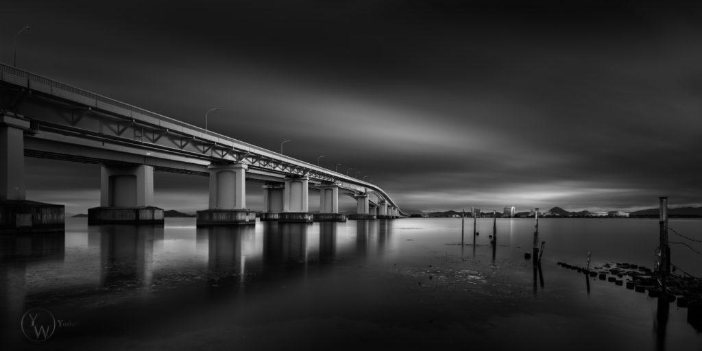Biwako-bridge, Shiga/琵琶湖大橋-滋賀-