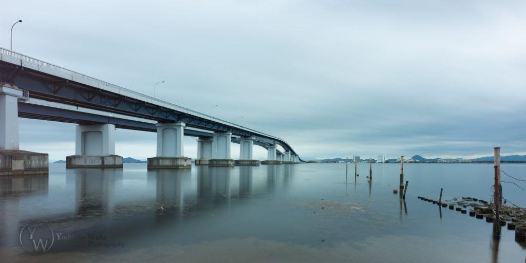 琵琶湖大橋 カラー