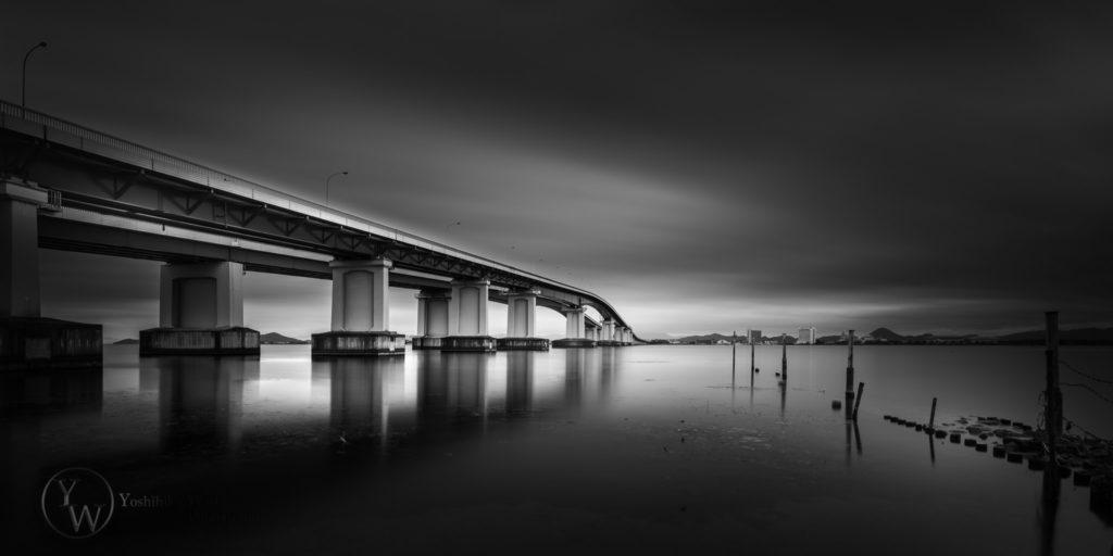 琵琶湖大橋 ラフビジョン